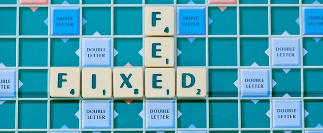 Scrabble Letters Fixed Fee